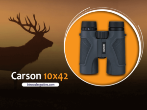 Carson 3D Black Binoculars – Best Light weight binoculars for Elk Hunting
