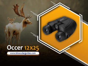 OCCER 12x25 Compact Binoculars – High Power Best Binoculars for Safari