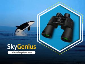 SkyGenius 10 x 50– Best powerful binoculars for whale watching