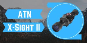 ATN X-Sight II - Day and Night Vision - Best Air Rifle Night Scope