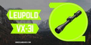 Leupold VX-3i – Compact air rifle scope - Best Air Rifle Scope under 500